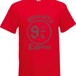 Hogwarts 9 and 3/4 Express Harry Potter Inspired Funny Humour Christmas Birthday Present Gift 100% cotton t shirt 5