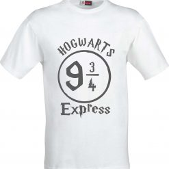 Hogwarts 9 and 3/4 Express Harry Potter Inspired Funny Humour Christmas Birthday Present Gift 100% cotton t shirt 4