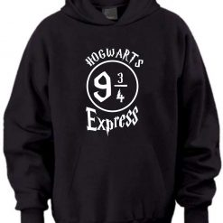 Don't let the Muggles get you Down Harry Potter Inspired Christmas birthday gift Present Childs Black Hoodie