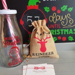 Personalised Reindeer Food bag