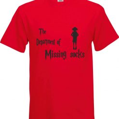 The Department of Missing Socks Harry Potter Inspired Funny Humour Christmas Birthday Present Gift 100% cotton t shirt 5