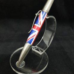 Bespoke Hand Turned Union Jack Pen