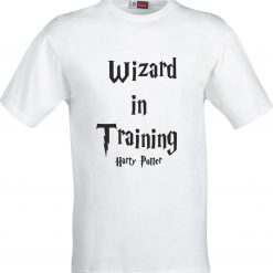 Wizard in Training Harry Potter Inspired Funny Humour Christmas Birthday Present Gift 100% cotton t shirt 4