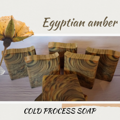 Handmade Artisan Egyptian amber cold process soap, free postage uk ,CPSR ,vegan friendly ,cruelty free
