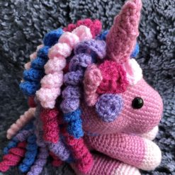 New handmade crochet Unicorn sold on another site. Can be made to order.