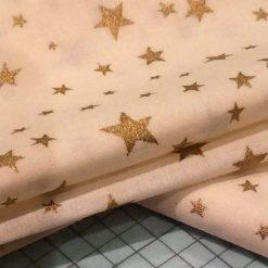 Cream Christmas fabric