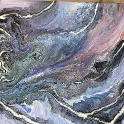 Blue Amazon painting