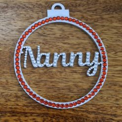 Personalised hanging Baubles Name. Mr & Mrs, Baby's 1st, Lockdown 2020 Tree decoration/ornament 8