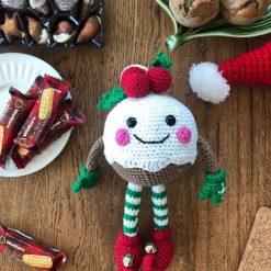 Crochet Patterns: Christmas Pudding