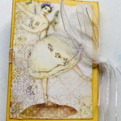 Blue Princess Lip Balm (Chapstick) Holder Card