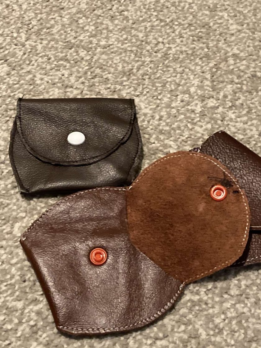 Sale :  small real leather coin purse 1