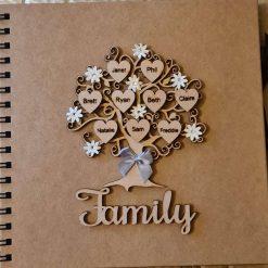 Family Tree Scrapbook Album