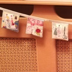 Sewing pattern bunting 4