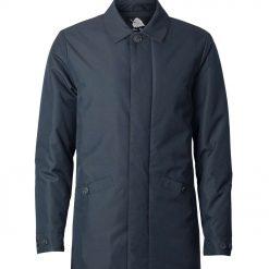 Mens warm winter classic padded MAC coat - Silver Birch Statesman