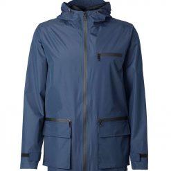 Mens light weight waterproof jacket raincoat -- Silver Birch Wanderer