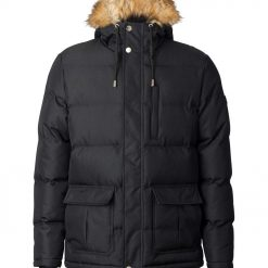 Mens super warm heavy padded winter jacket -- Silver Birch Polar