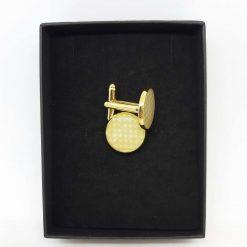 Handmade Brass Cufflinks