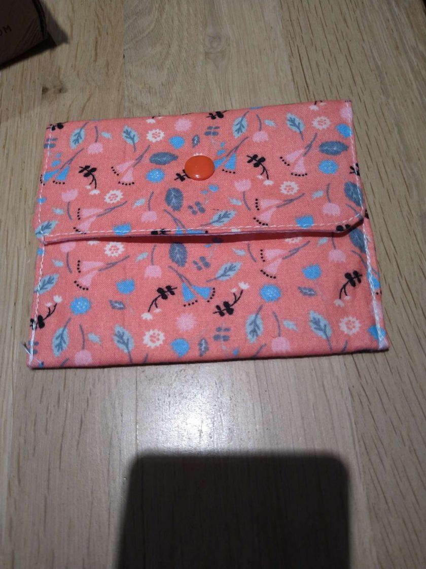 Peach purse 1