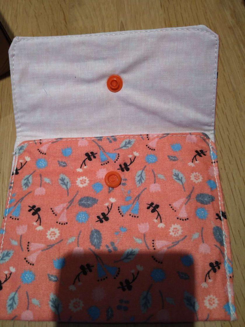 Peach purse 2