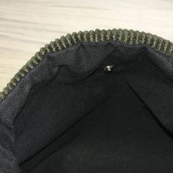 Upcycled Green Corduroy Bag 7