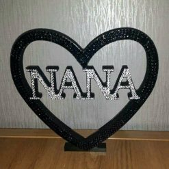 Personalised Heart for Nan, Mom, Mum, Gran, Love & Dad 3