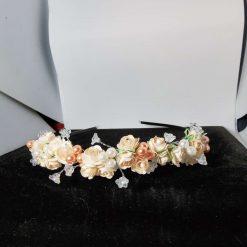 bridal/bridesmaid/flowergirl/galaday flower tiara