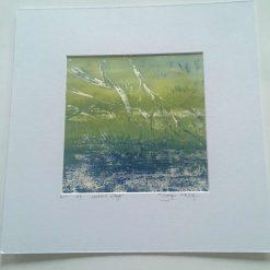 'waters edge' - Original screen print (6) / free p.p
