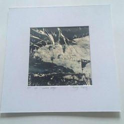 'waters edge' - Original screen print (7) / free p.p