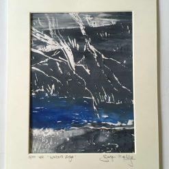 'waters edge' - Original screen print (5) / free p.p