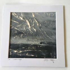 'waters edge' - Original screen print (1) / free p.p