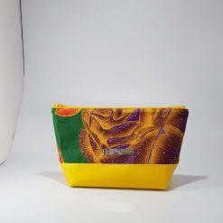 Bedrock Creations -  Wash Bag Green Yellow (Med)