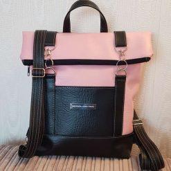 Bedrock Creations - Pinky Black Backpack Babies