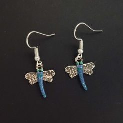 -Dragonfly Earrings - Choice of Ball Stud or Dangle 5