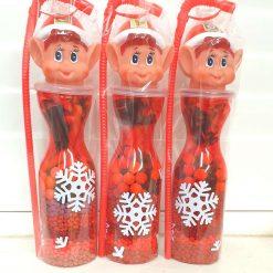 Christmas Elf sweet filled bottle