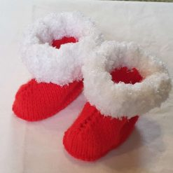 Christmas bootees 6mths+ 6