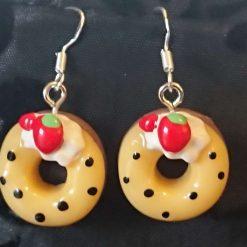 Doughnut earrings multi 3
