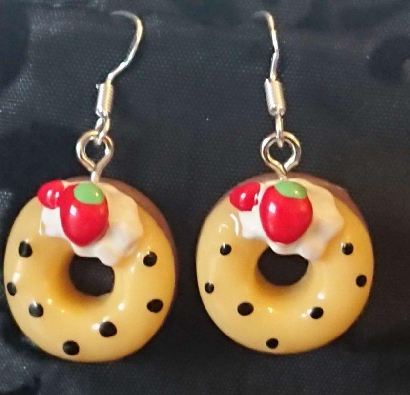 Doughnut earrings multi 2