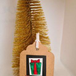 10 x Christmas Presents Handmade Gift Tags
