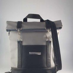 Bedrock Creations - Grey Black Backpack Babies