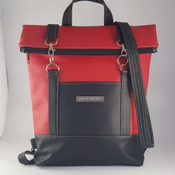 Bedrock Creations - Red Black Backpack Babies