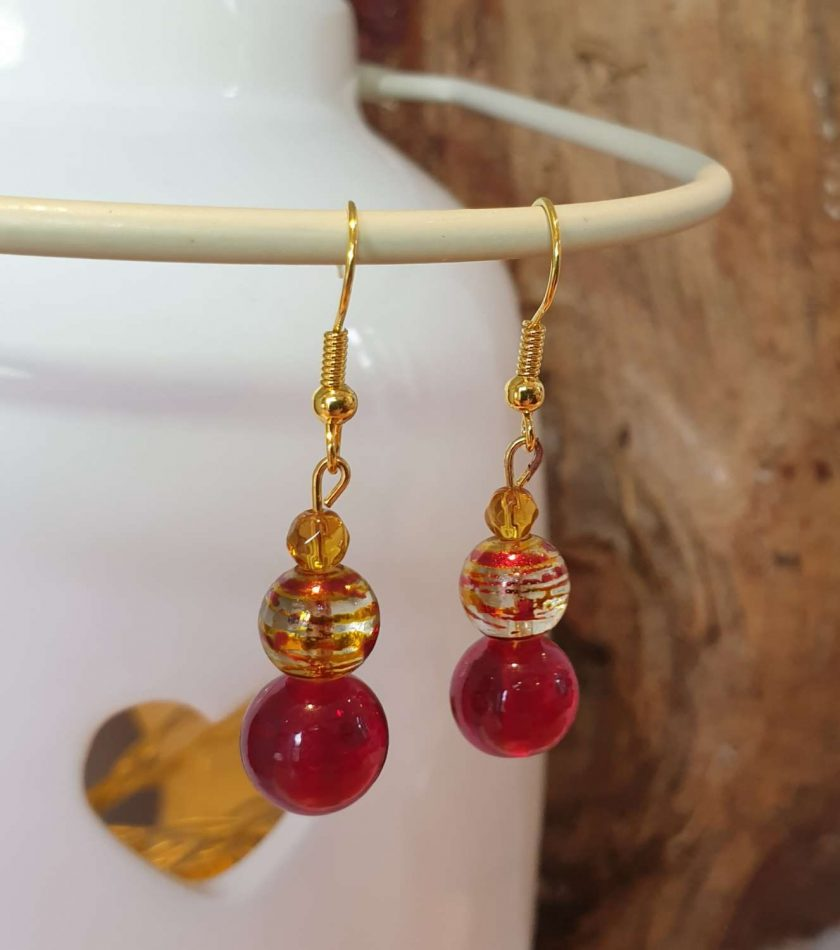 Gold Plated Drop Earrings #3 1