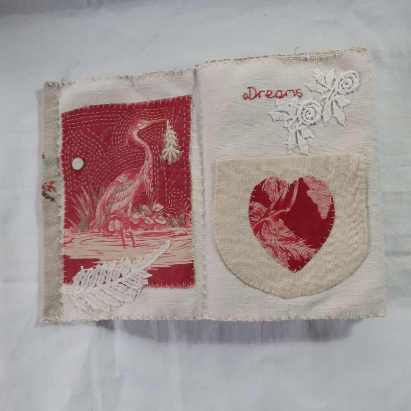 Concertina fabric book 3