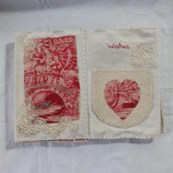 Concertina fabric book 10