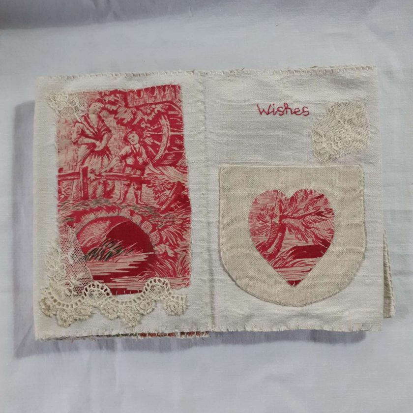 Concertina fabric book 5