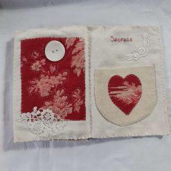Concertina fabric book 11