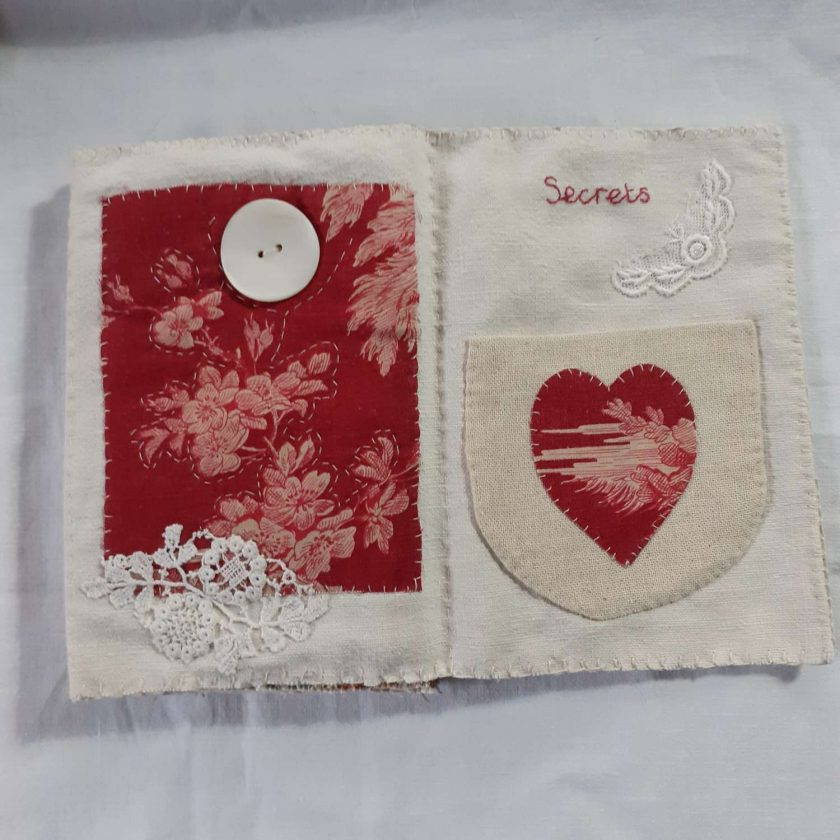 Concertina fabric book 6