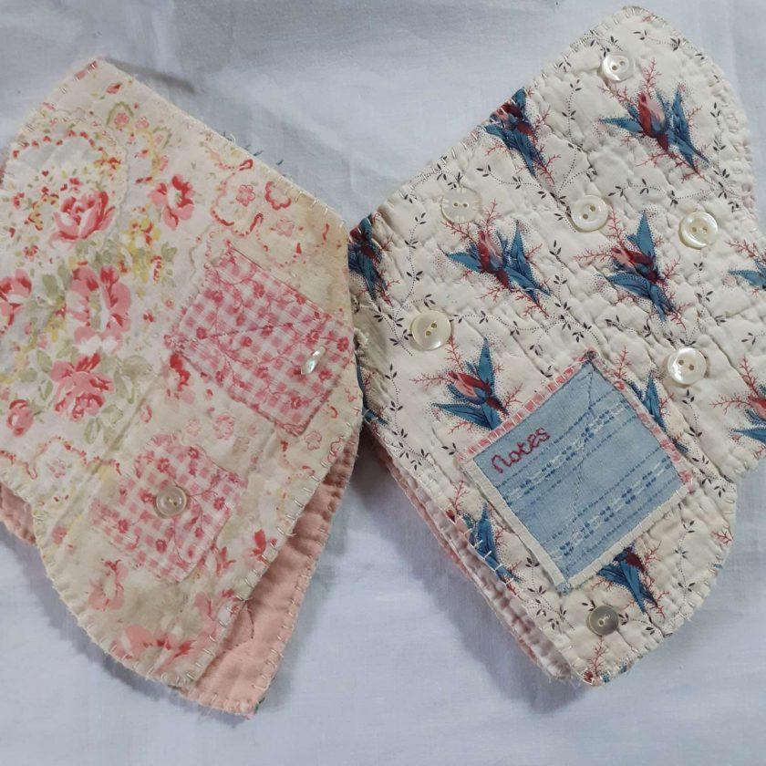 Textile Keepsake book 3