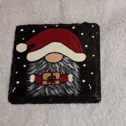 Design 2 Hand painted slate coasters x2 10