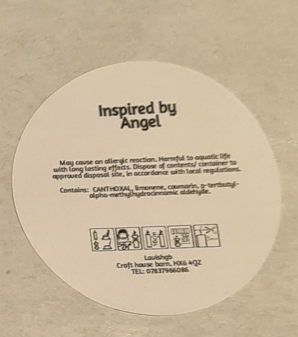 Angel perfume wax melt 2