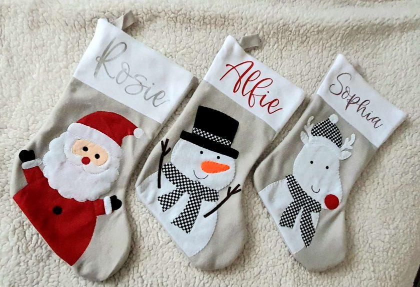 Personalised Christmas Stocking 2